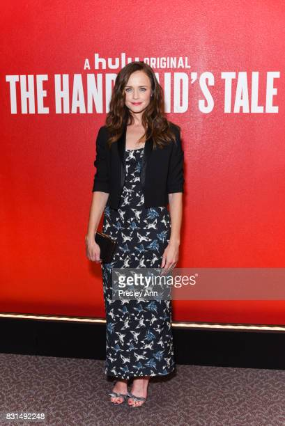 Alexis Bledel attends FYC Event For Hulu's 'The Handmaid's Tale' at DGA Theater on August 14 2017 in Los Angeles California