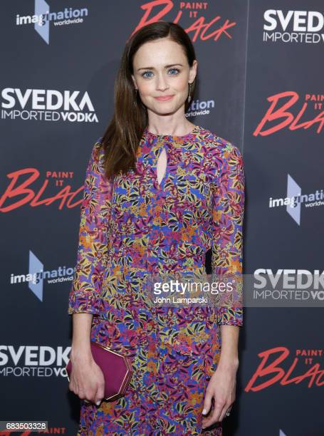 Alexis Bledel attends 'Paint It Black' New York premiere at the Museum of Modern Art on May 15 2017 in New York City