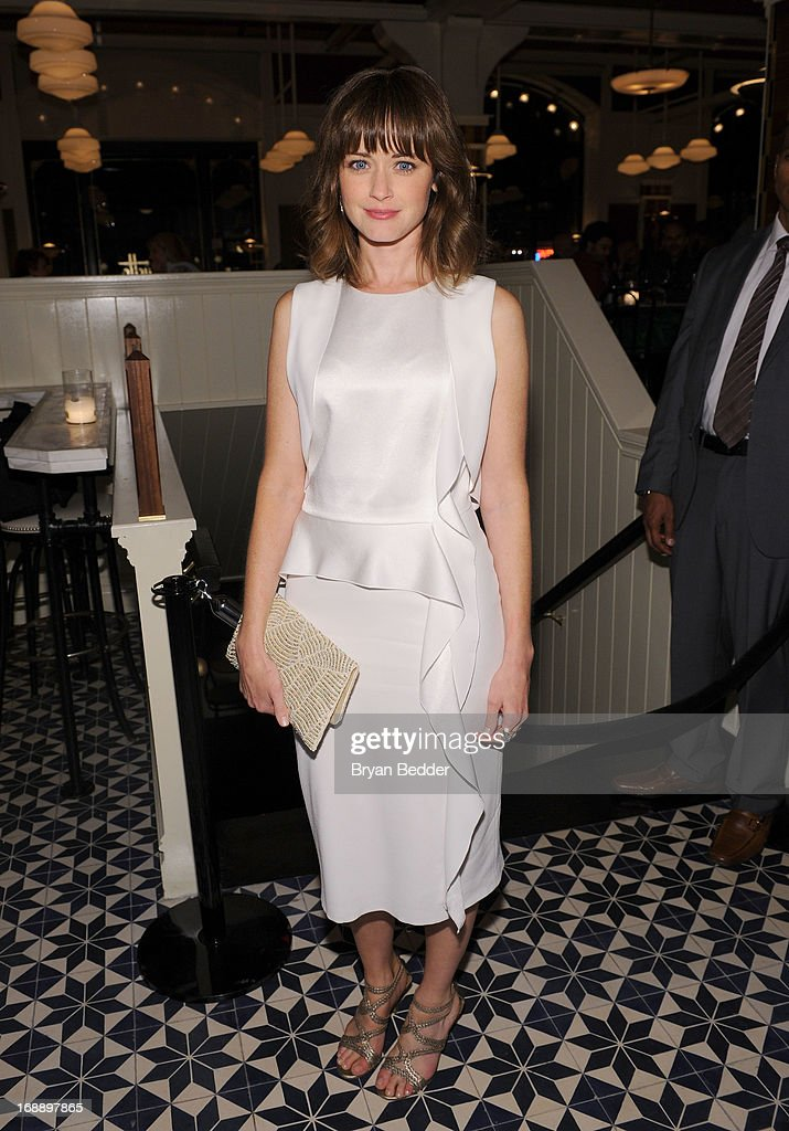 <a gi-track='captionPersonalityLinkClicked' href=/galleries/search?phrase=Alexis+Bledel&family=editorial&specificpeople=206123 ng-click='$event.stopPropagation()'>Alexis Bledel</a> attends the 2013 CAA Upfronts Party on May 14, 2013 in New York City.