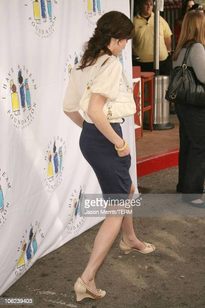 Alexis Bledel during The 9th Annual Gospel Brunch and Dream Keeper Awards Arrivals at The House of Blues on Sunset in Hollywood California United...