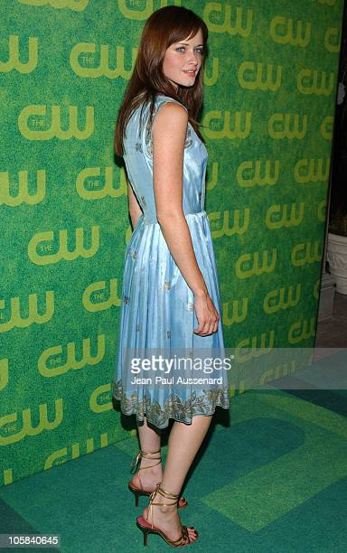 Alexis Bledel during The CW Summer 2006 TCA Party Arrivals at Ritz Carlton in Pasadena California United States
