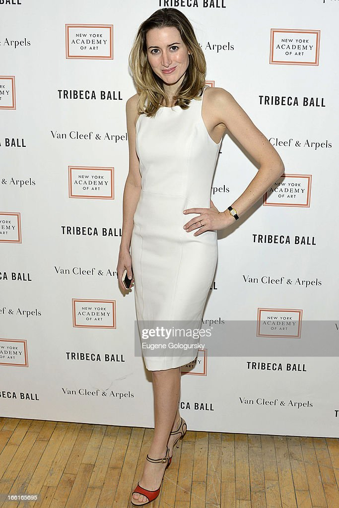 Alexis Bryan Morgan attends the 2013 Tribeca Ball at New York Academy of Art on April 8, 2013 in New York City.
