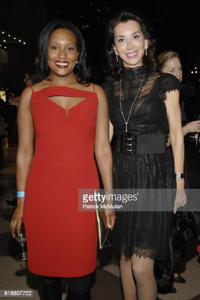 Alexis Clark and Fe Fendi attend EAST SIDE HOUSE SETTLEMENT Gala Preview of the 2010 NEW YORK INTERNATIONAL AUTO SHOW at Javits Center on April 1...