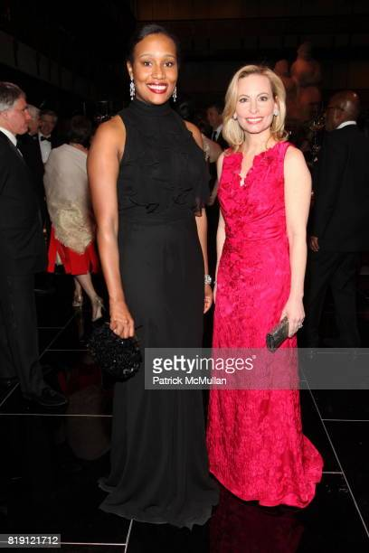 Alexis Clark and Gillian Miniter attend THE SCHOOL OF AMERICAN BALLET Winter Ball 2010 at David H Koch Theater on March 1 2010 in New York City