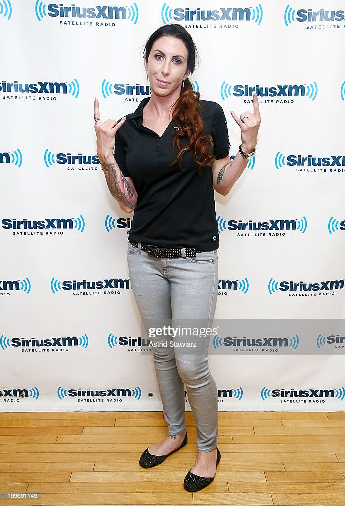 Alexis DeJoria visits the SiriusXM Studios on May 30, 2013 in New York City.