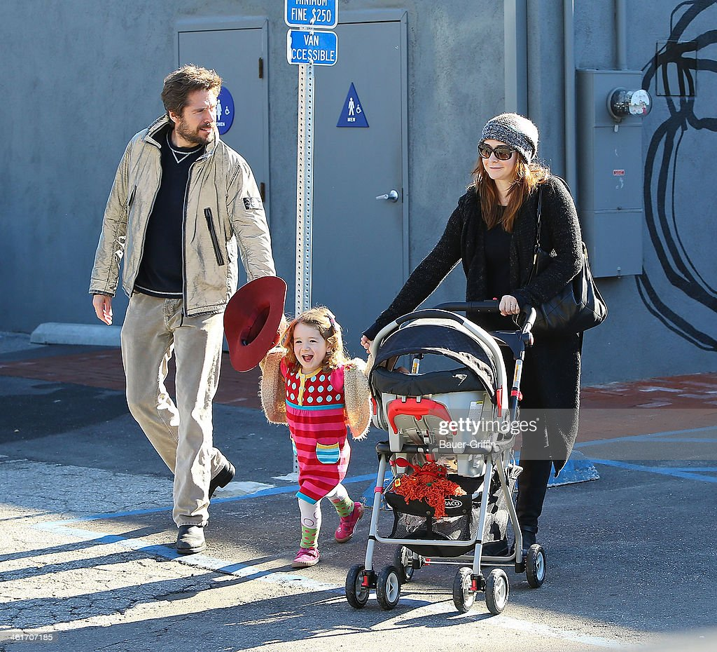 Alexis Denisof, Satyana Denisof and Alyson Hannigan sighting in Venice on December 27, 2012 in Los Angeles, California.