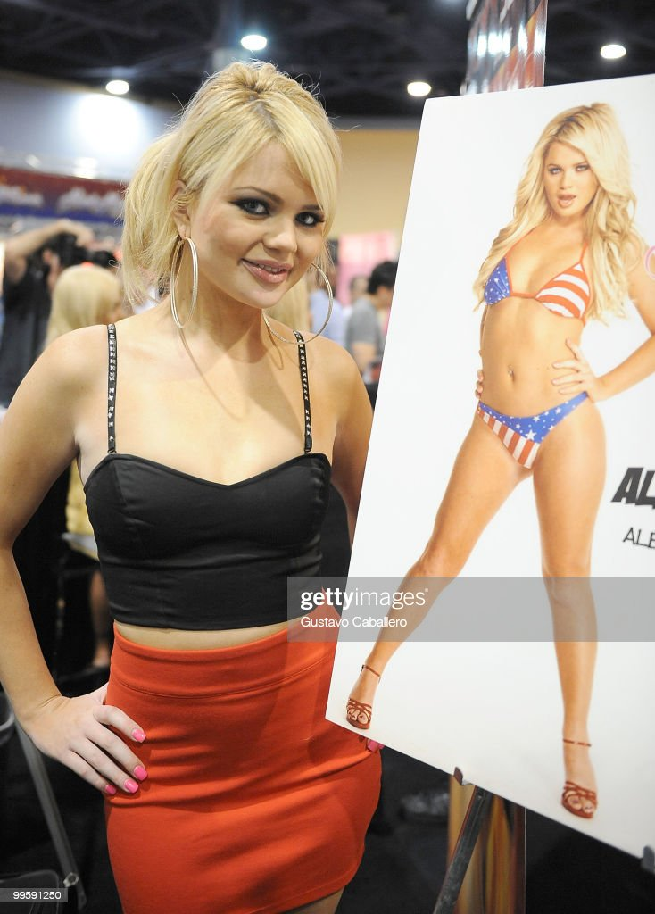 Alexis Ford attends Exxxotica Miami Beach at the Miami Beach Convention Center on May 15, 2010 in Miami Beach, Florida.