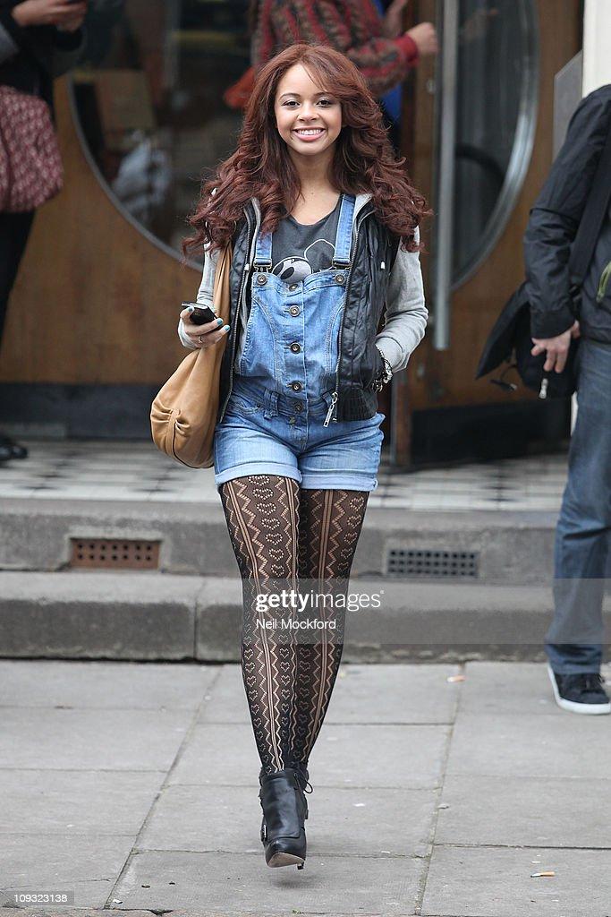 Celebrity Sightings In London - February 21, 2011