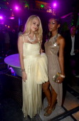 Alexis Knapp and Guest attends the after party for the premiere of 'Ted' at Drai's Hollywood on June 21 2012 in Hollywood California