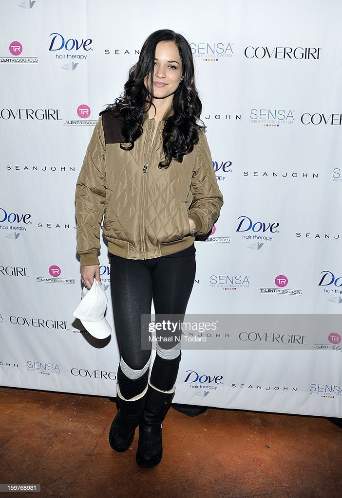 Alexis Knapp attends the TR Suites Daytime Lounge - Day 2 on January 19, 2013 in Park City, Utah.