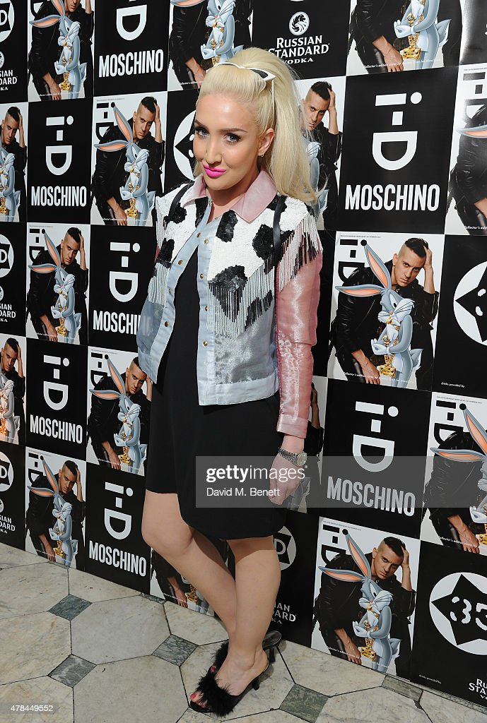 Alexis Knox attends the i-D 35 x Jeremy Scott for Moschino party celebrating i-D Magazine's 35th anniversary at Il Bottaccio on June 24, 2015 in London, England.