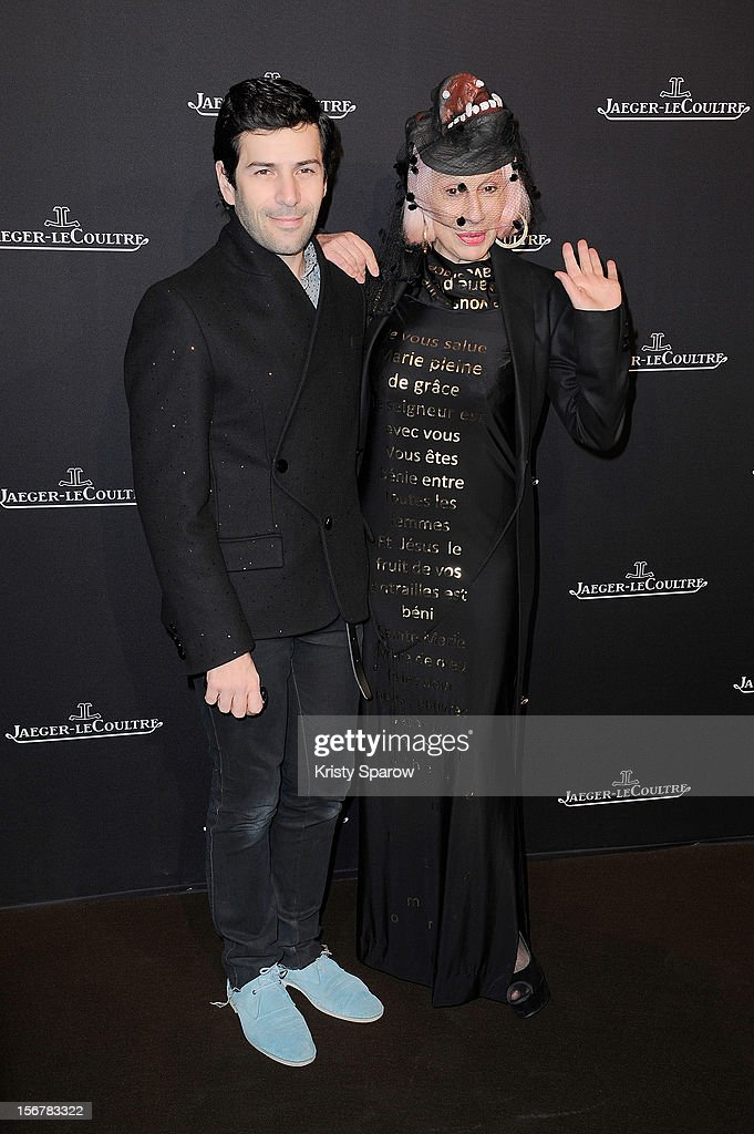 Alexis Mabille and Marie Beltrami attend the Jaeger-LeCoultre Place Vendome Boutique Opening at Jaeger-LeCoultre Boutique on November 20, 2012 in Paris.