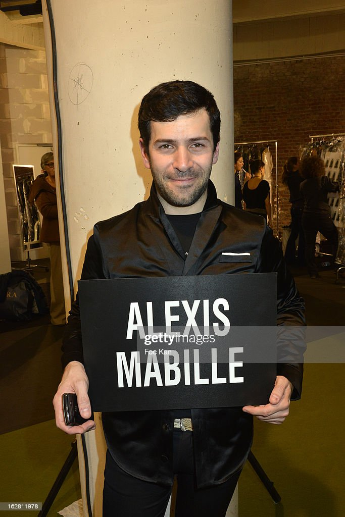 Alexis Mabille attends the Alexis Mabille- Front Row - PFW F/W 2013 at Palais de Tokyo on February 27, 2013 in Paris, France.