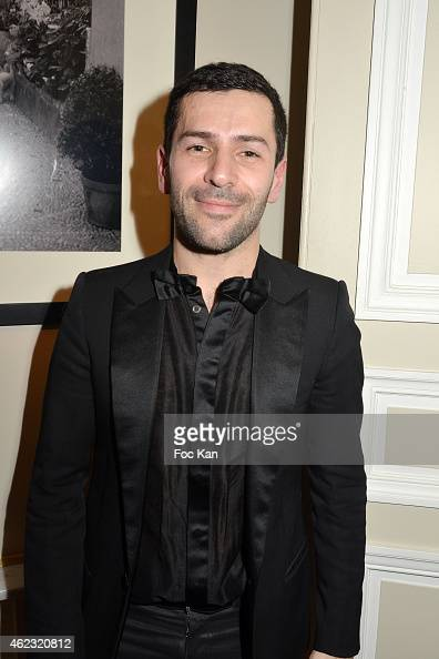 Alexis Mabille attends The Alexis Mabille show as part of Paris Fashion Week HauteCouture Spring/Summer 2015 on January 26 2015 in Paris France
