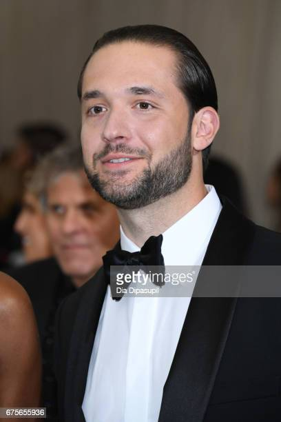 Alexis Ohanian attends the 'Rei Kawakubo/Comme des Garcons Art Of The InBetween' Costume Institute Gala at Metropolitan Museum of Art on May 1 2017...