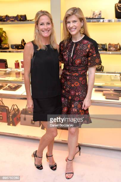 Alexis Ross and Stuart Mesires attend Prada Chicago x University Of Chicago Cancer Research Foundation Event at Prada Chicago on June 13 2017 in...