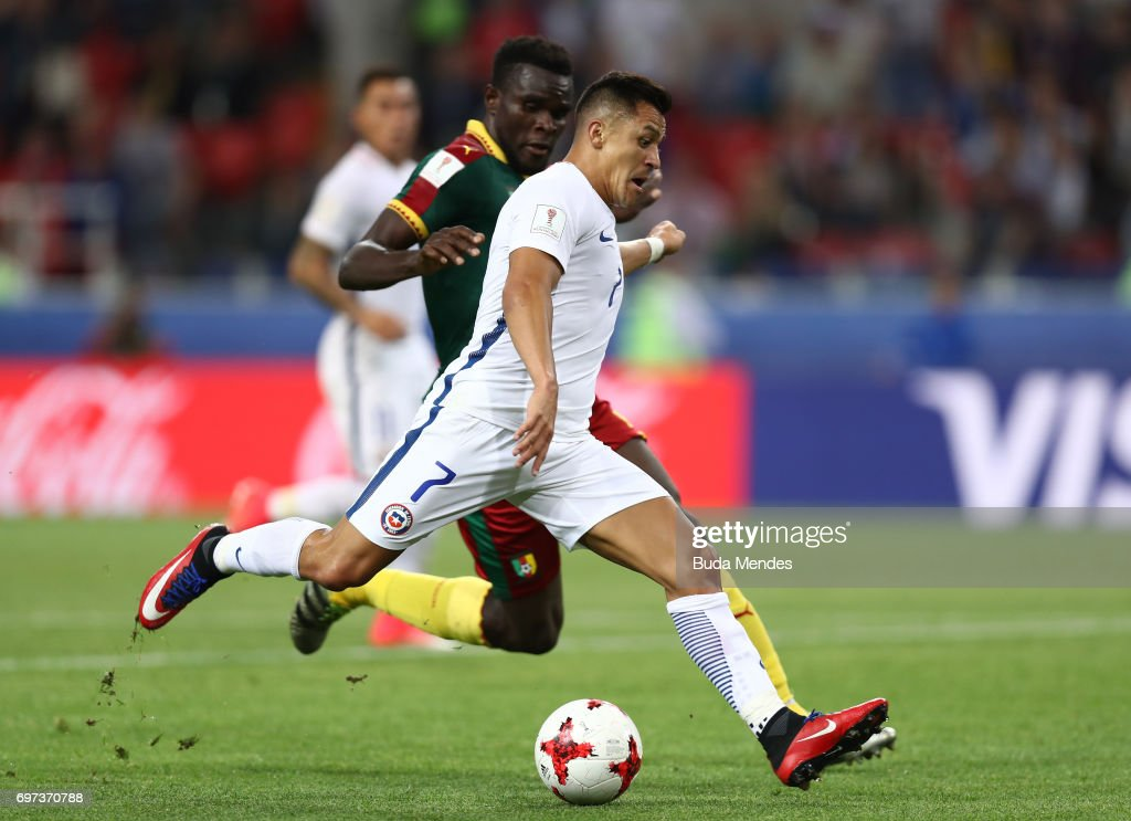 Cameroon v Chile: Group B - FIFA Confederations Cup Russia 2017 : News Photo