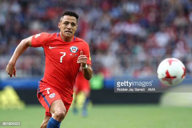Alexis Sanchez of Chile during the FIFA Confederations Cup Russia 2017 Group B match between Chile and Australia at Spartak Stadium on June 25 2017...