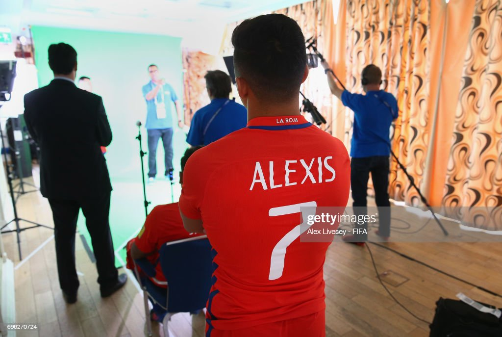 Chile Portraits - FIFA Confederations Cup Russia 2017 : News Photo