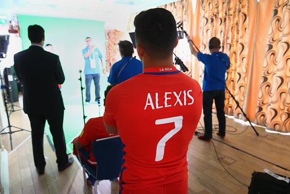 Chile Portraits - FIFA Confederations Cup Russia 2017 : News Photo