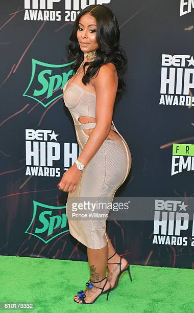 Alexis Sky attends the BET Hip Hop Awards 2016 Green Carpet at Cobb Energy Performing Arts Center on September 17 2016 in Atlanta Georgia
