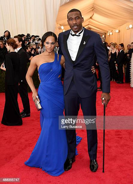 Alexis Stoudemire and NBA player Amar'e Stoudemire attend the 'Charles James Beyond Fashion' Costume Institute Gala at the Metropolitan Museum of Art...
