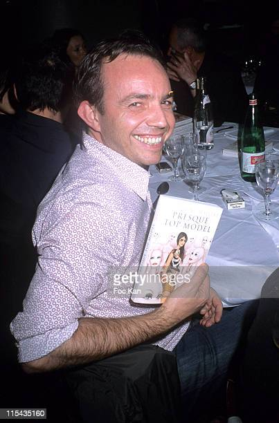 Alexis Tregarot during 'Presque Top Model' Geraldine Maillet's Book Launching Party April 26 2006 at Hotel du Nord in Paris France