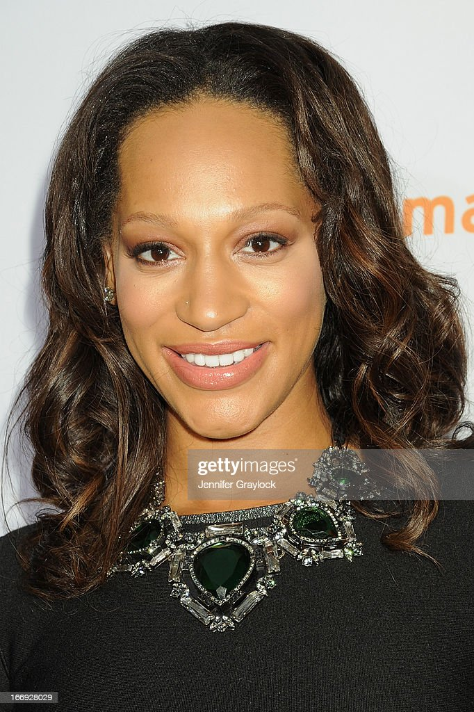 Alexis Welch attends EPIX premiere of Amar'e Stoudemire IN THE MOMENT on April 18, 2013 in New York City.