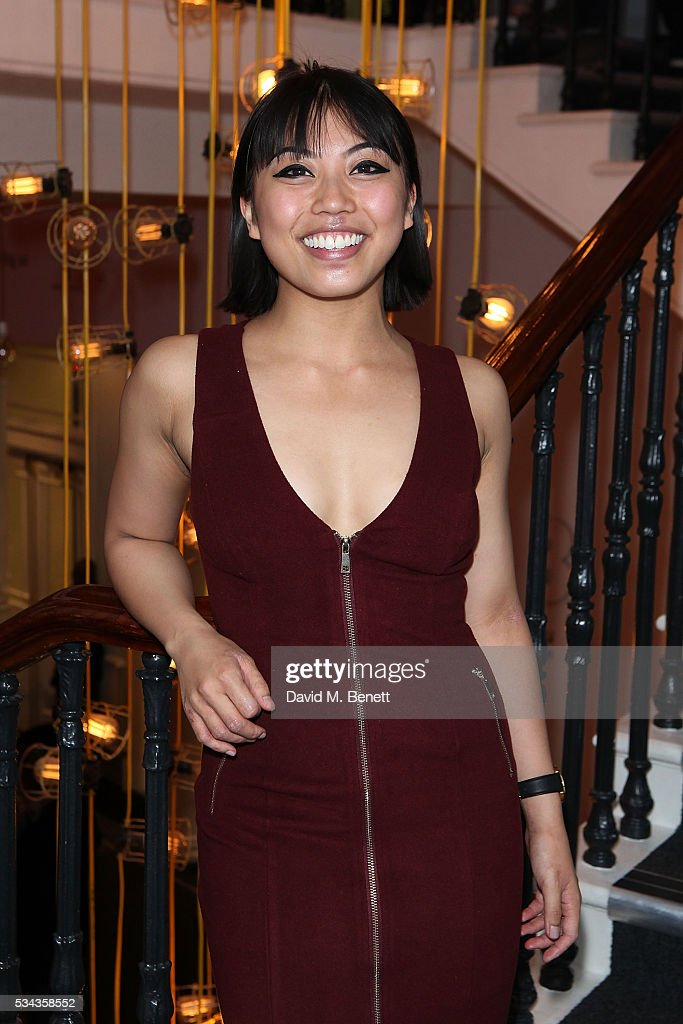 Alexzandra Sarmiento attends the press night after party for 'Jekyll Hyde' at The Old Vic Theatre on May 25 2016 in London England