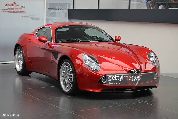 Alfa Romeo 8C Competizione - modern Italian coupe