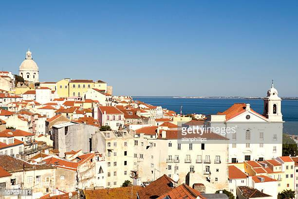 Alfama district of Lisbon on a sunny afternoon