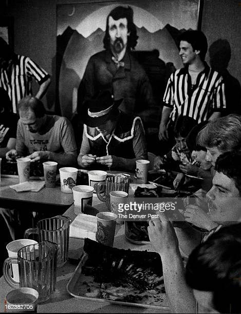 APR 13 1981 Alferd Packer Day Observed Students at the University of Colorado celebrated Alfred E Packer Day with a ribeating contest Friday top at...