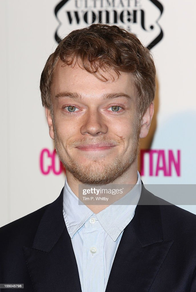 Alfie Allen attends the Cosmopolitan Ultimate Woman of the Year awards at Victoria & Albert Museum on October 30, 2012 in London, England.