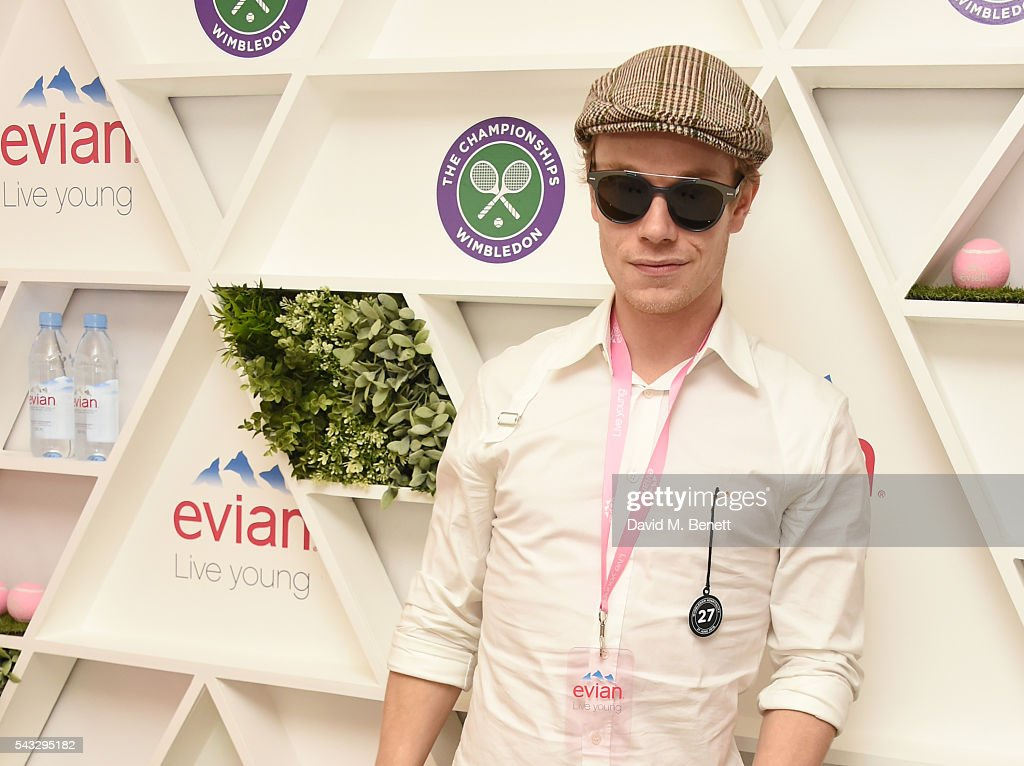 <a gi-track='captionPersonalityLinkClicked' href=/galleries/search?phrase=Alfie+Allen&family=editorial&specificpeople=885196 ng-click='$event.stopPropagation()'>Alfie Allen</a> attends the evian Live Young suite during Wimbledon 2016 at the All England Tennis and Croquet Club on June 27, 2016 in London, England.
