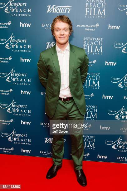 Alfie Allen attends the Newport Beach Film Festival Honours at Bulgari Hotel on February 9 2017 in London United Kingdom