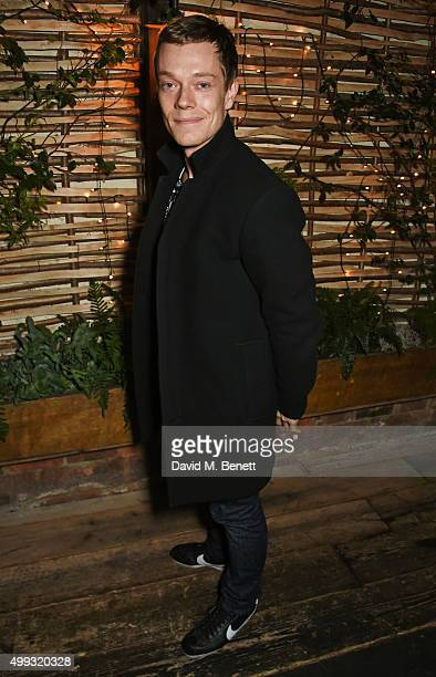 Alfie Allen attends the Refinery 29 UK launch event at Shoreditch House on November 30 2015 in London England