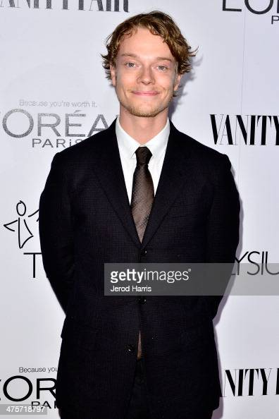 Alfie Allen attends the Vanity Fair Campaign Hollywood Kick Off at Sadie Kitchen and Lounge on February 28 2014 in Los Angeles California