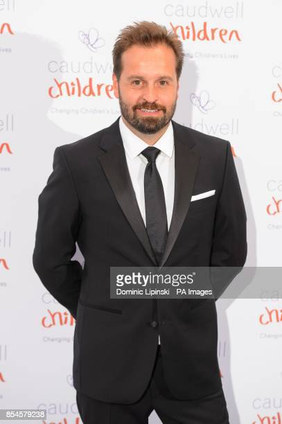 Alfie Boe arriving at the Caudwell Children Butterfly Ball at the Grosvenor House hotel in central London