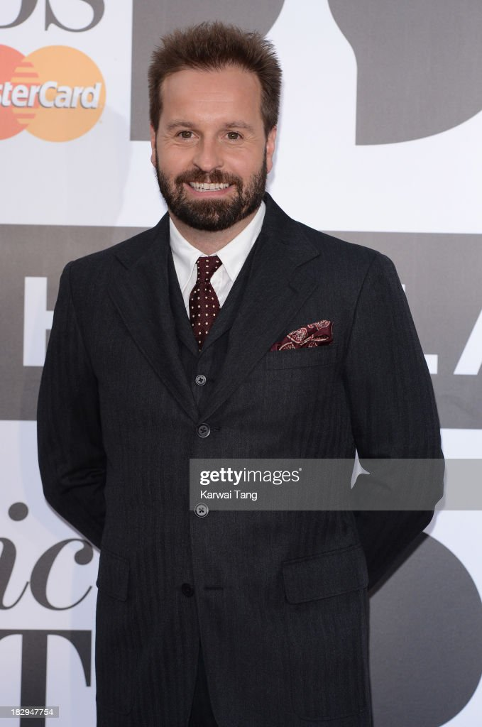 Alfie Boe attends the Classic BRIT Awards 2013 at Royal Albert Hall on October 2, 2013 in London, England.