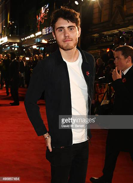Alfie Deyes attends the UK Premiere of 'The Hunger Games Mockingjay Part 2' at Odeon Leicester Square on November 5 2015 in London England