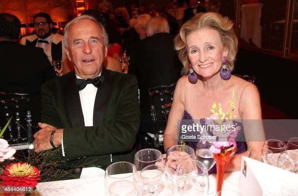 Alfons Schneider Elisabeth Guertler attend the Salzburg Festival Ball at Felsenreitschule on August 30 2014 in Salzburg Austria