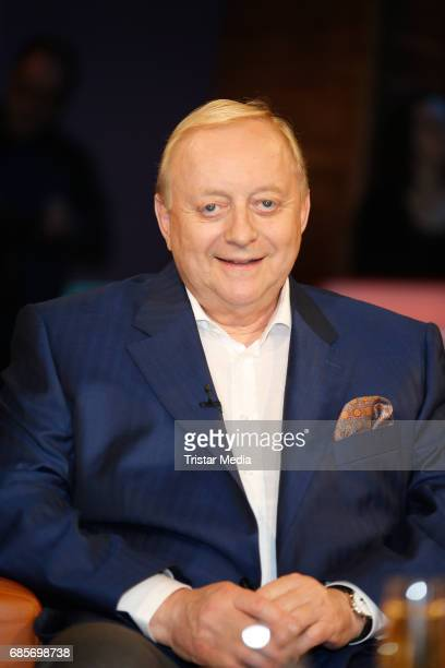 Alfons Schuhbeck is seen during the NDR Talk Show on May 19 2017 in Hamburg Germany
