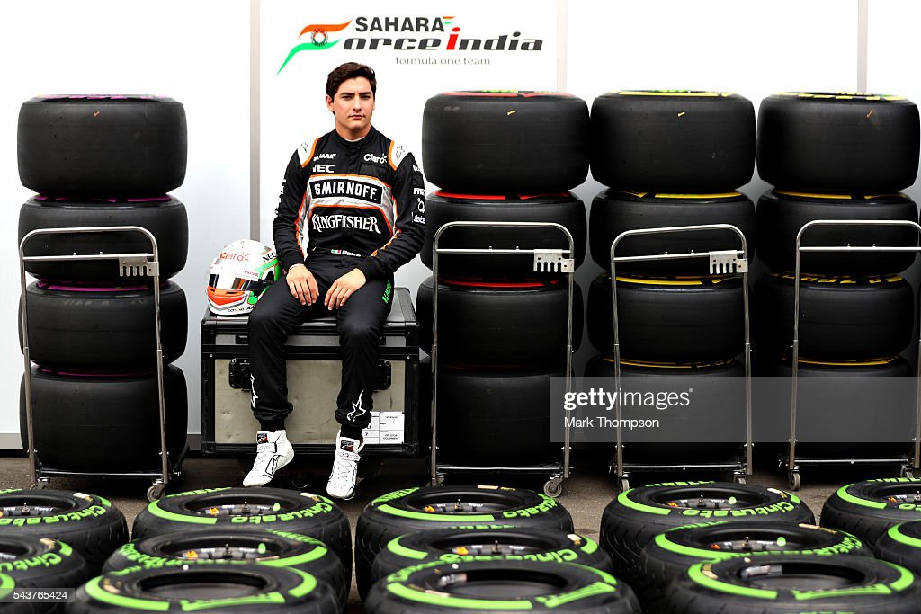 Alfonso Celis Jr of Mexico and Force India sits in the Paddock during previews ahead of the Formula One Grand Prix of Austria at Red Bull Ring on June 30, 2016 in Spielberg, Austria.
