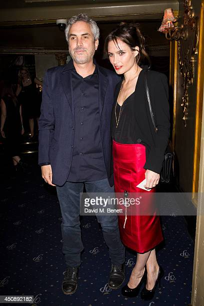 Alfonso Cuaron and Sheherazade Goldsmith arrive at The Hoping Foundation's 'Starry Starry Night' Benefit Evening For Palestinian Refugee Children at...