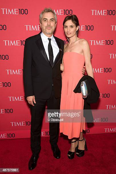 Alfonso Cuaron and Sheherazade Goldsmith attend the 2014 Time 100 Gala at Frederick P Rose Hall Jazz at Lincoln Center on April 29 2014 in New York...