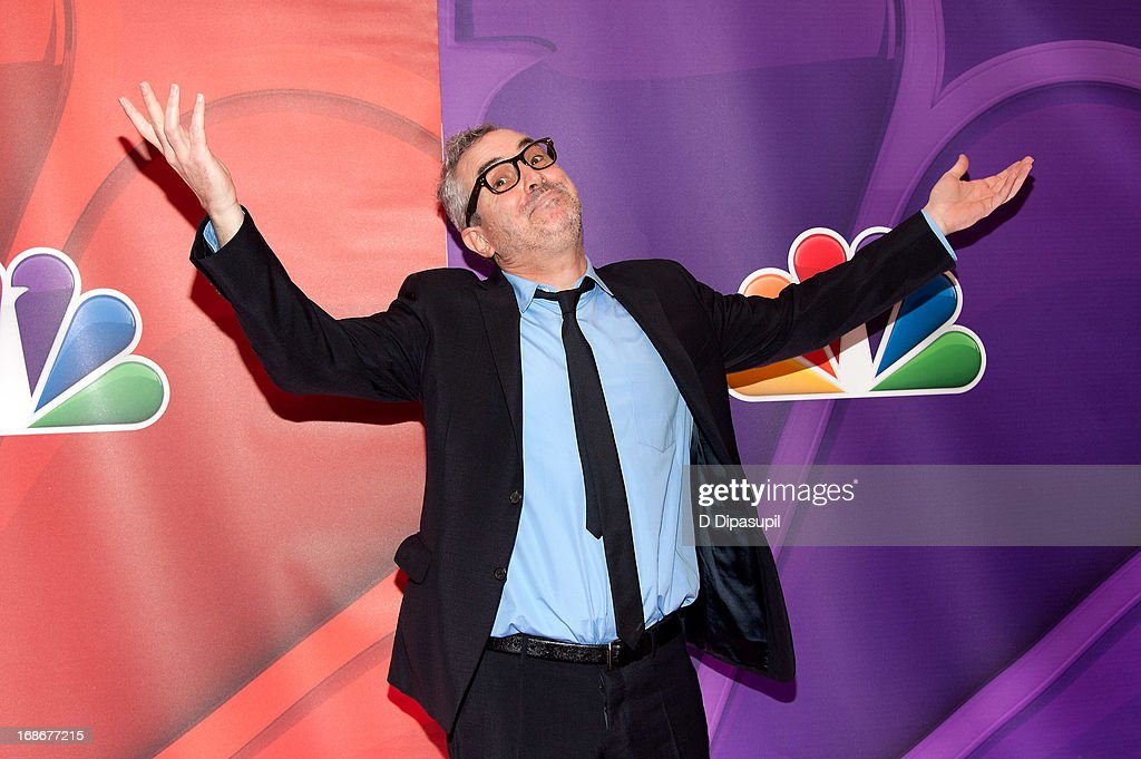 <a gi-track='captionPersonalityLinkClicked' href=/galleries/search?phrase=Alfonso+Cuaron&family=editorial&specificpeople=213792 ng-click='$event.stopPropagation()'>Alfonso Cuaron</a> attends the 2013 NBC Upfront Presentation Red Carpet Event at Radio City Music Hall on May 13, 2013 in New York City.