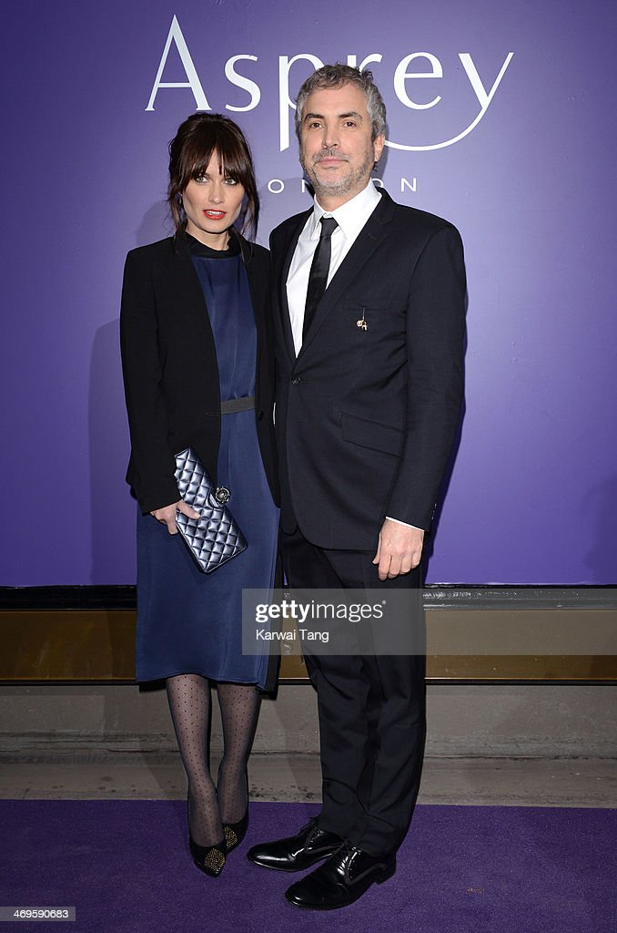 <a gi-track='captionPersonalityLinkClicked' href=/galleries/search?phrase=Alfonso+Cuaron&family=editorial&specificpeople=213792 ng-click='$event.stopPropagation()'>Alfonso Cuaron</a> attends the EE British Academy Film Awards Nominees Party at Asprey London on February 15, 2014 in London, England.