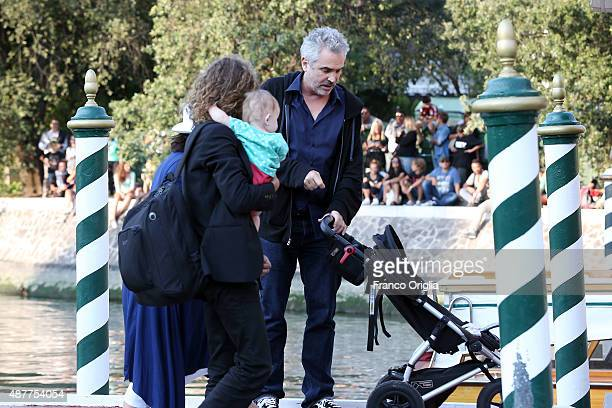 Alfonso Cuaron is seen during the 72nd Venice Film Festival on September 11 2015 in Venice Italy