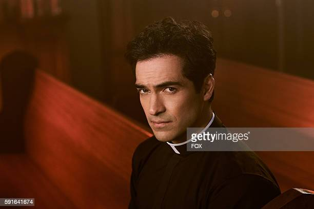 Alfonso Herrera as Father Tomas Ortega in THE EXORCIST premiering Friday Sept 23 on FOX