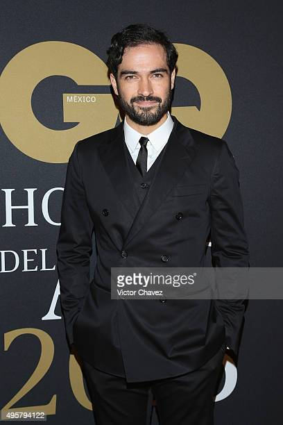 Alfonso Herrera attends the GQ Mexico Men of The Year 2015 awards at Live Aqua Bosques hotel on November 4 2015 in Mexico City Mexico